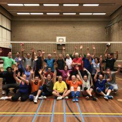 SV Christofoor speelt traditioneel Oliebollenmixtoernooi voor volleyballers